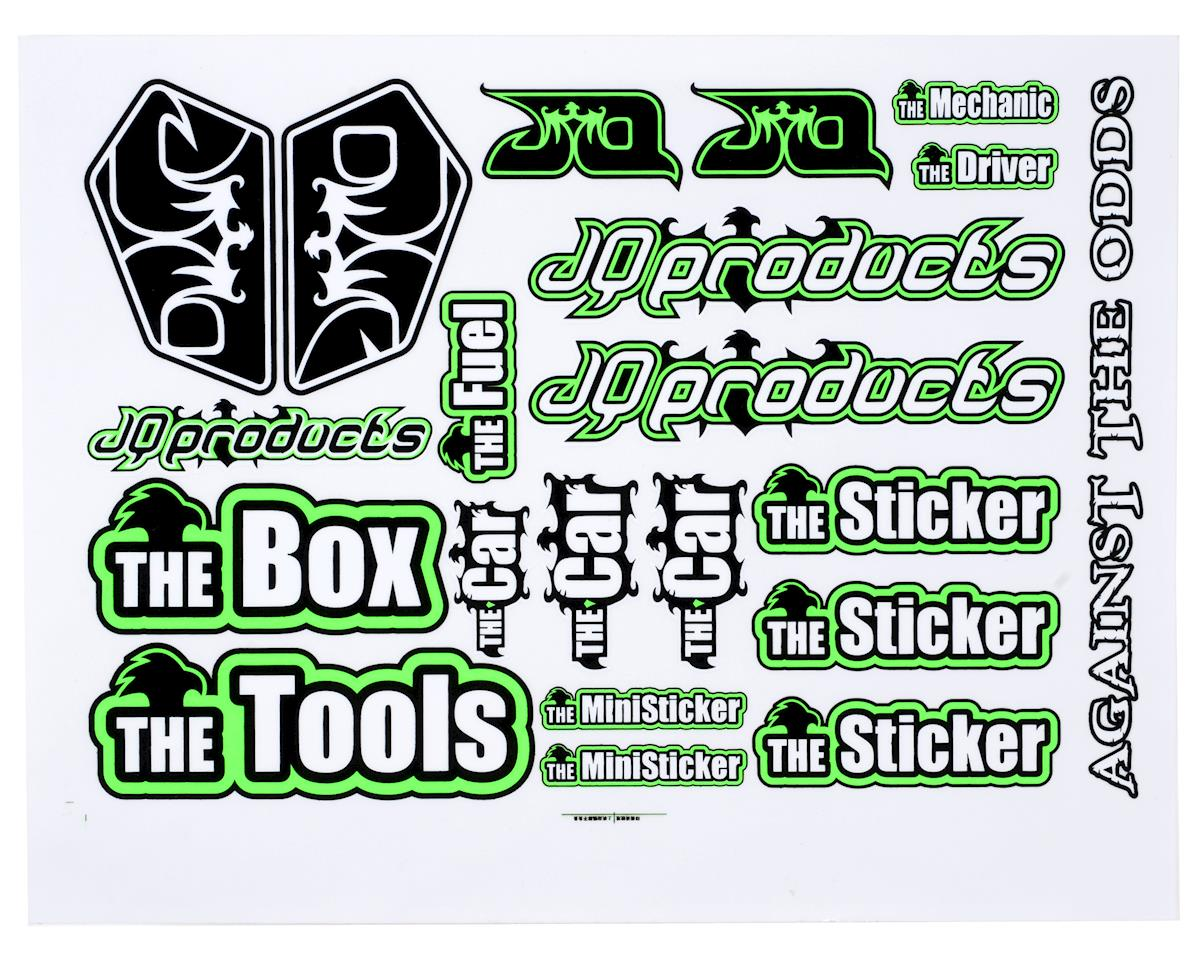"JQRacing ""THE Car"" Sticker Sheet"