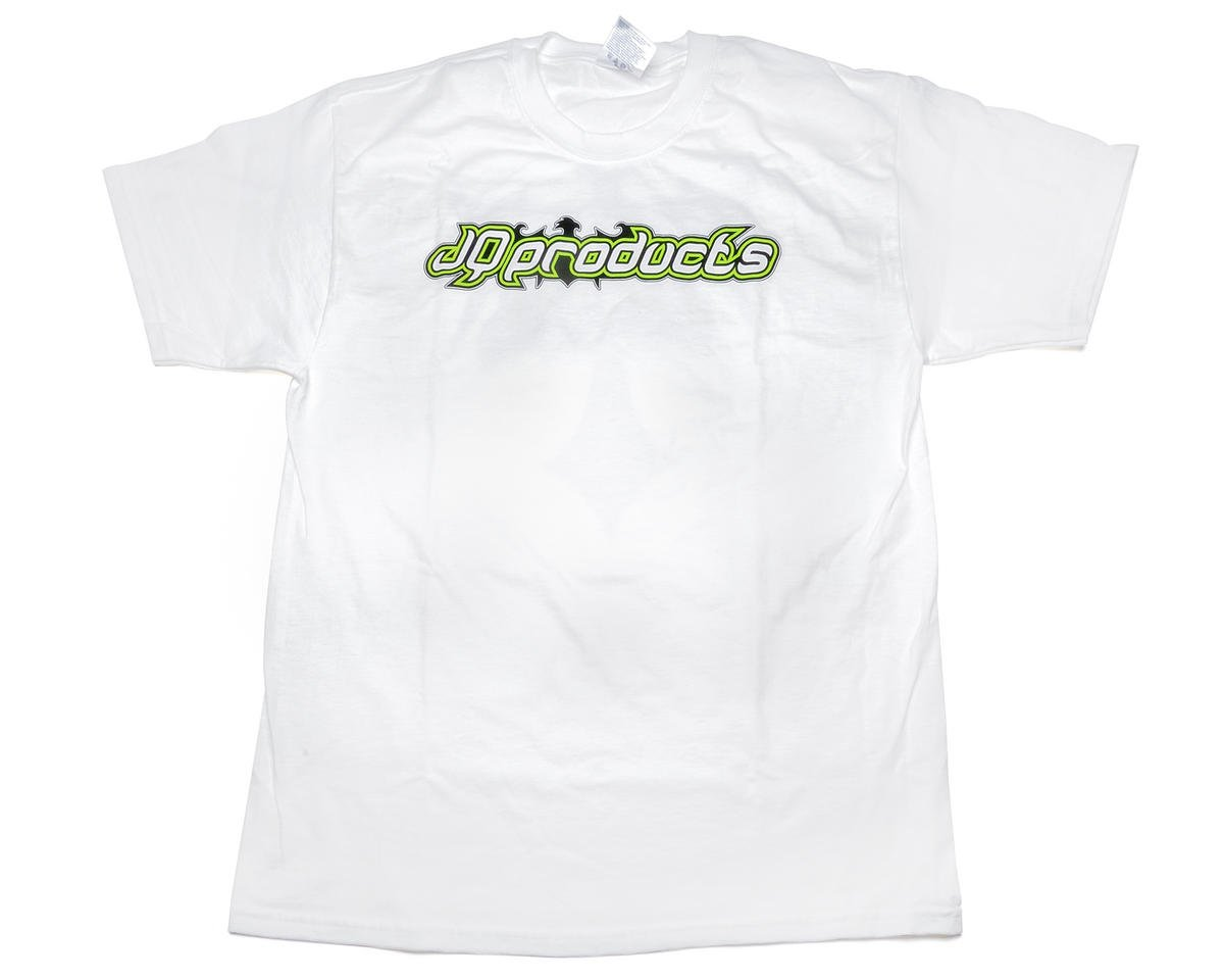 "JQRacing ""The Shirt"" White T-Shirt (2X-Large)"