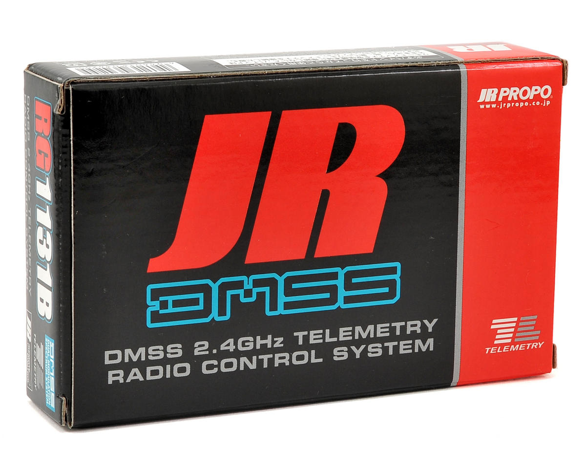 JR RG1131B 11-Channel DMSS Full Range Receiver w/RA-01T Telemetry Module