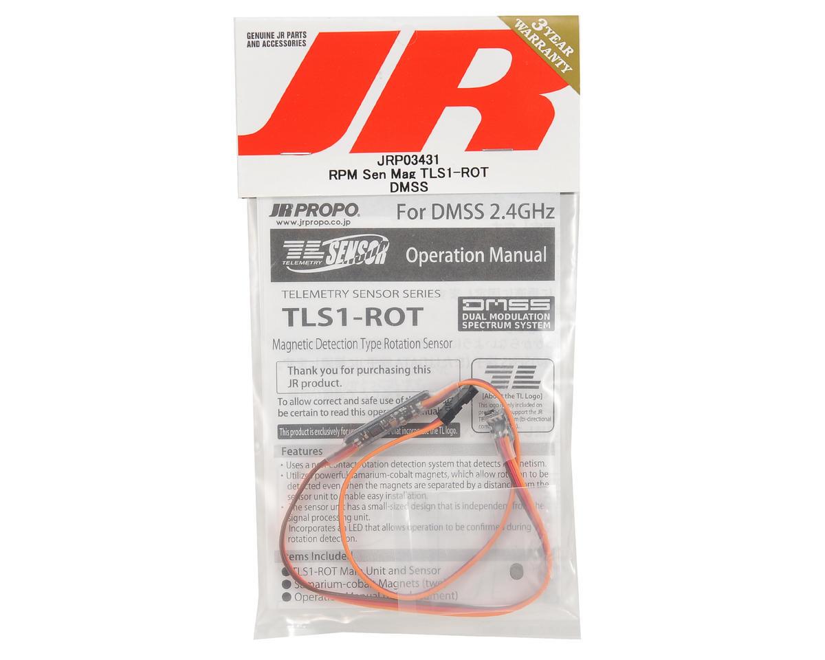 JR TLS1-ROT DMSS Magnetic RPM Sensor