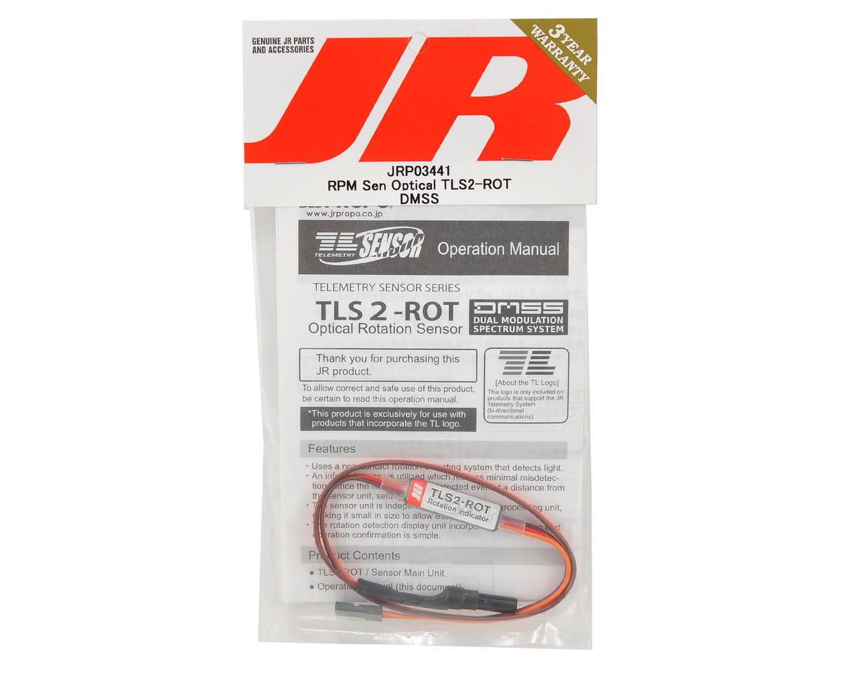 JR TLS2-ROT DMSS Optical RPM Sensor