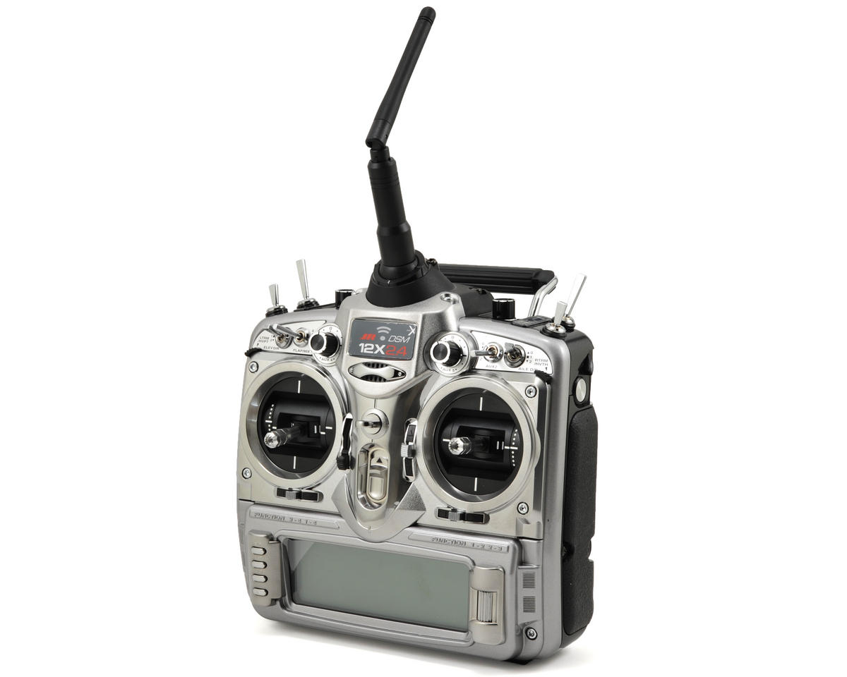 JR 12X 2.4Ghz 12-Channel DSMX Transmitter (Transmitter Only)