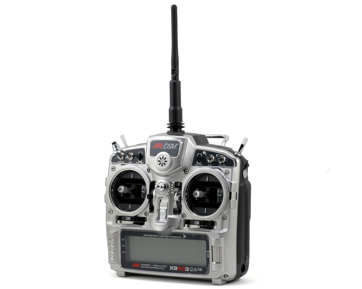 JR X9503 2.4Ghz DSMX 9Ch Airplane Radio System w/R921X Receiver (No Servos)