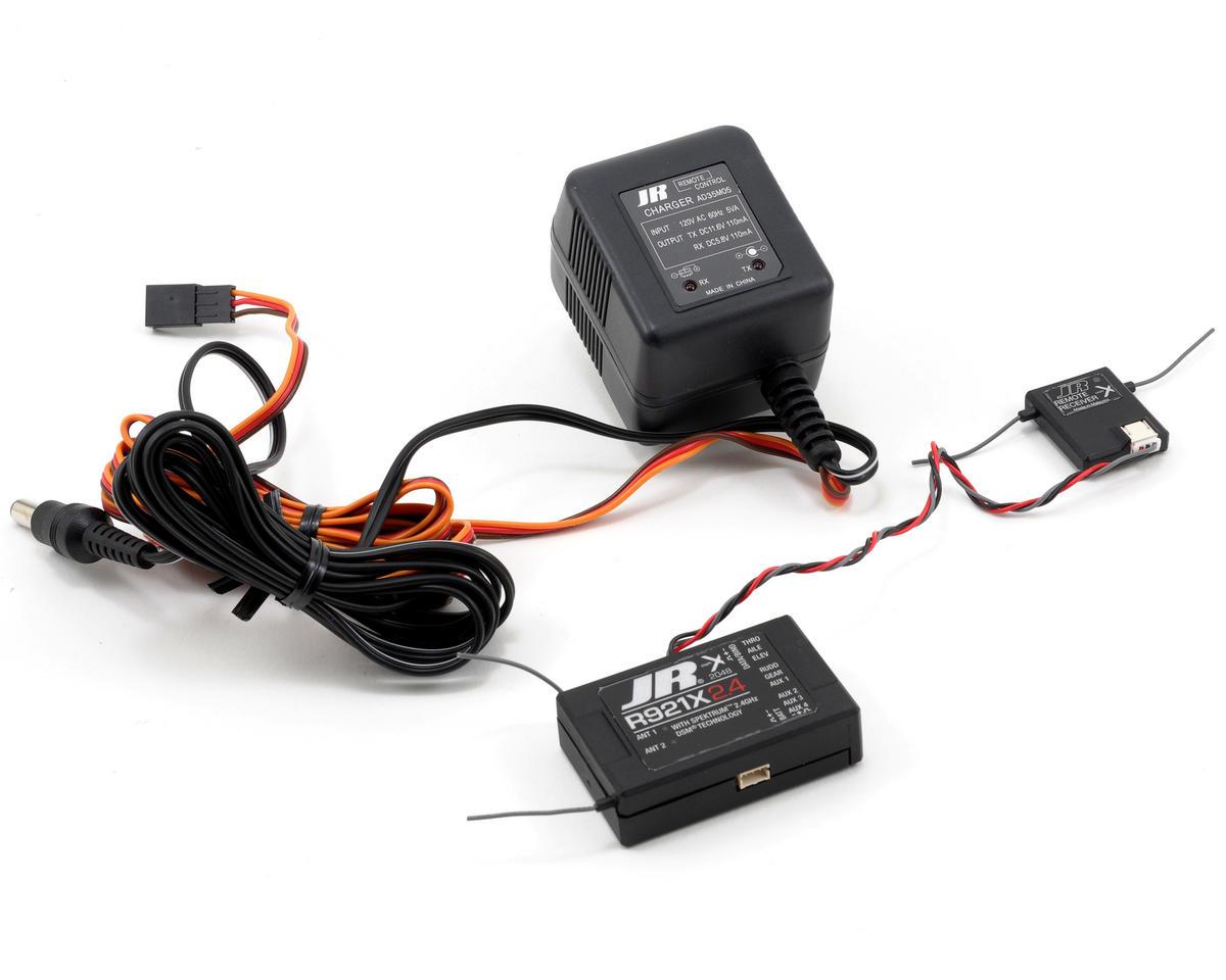 JR X9503 2.4Ghz DSMX 9Ch Helicopter Radio System w/R921X Receiver (No Servos)