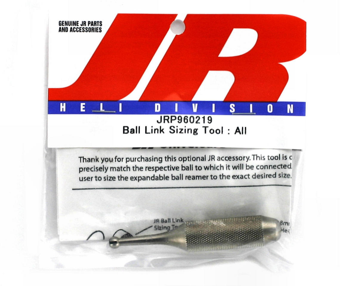JR Ball Link Sizing Tool