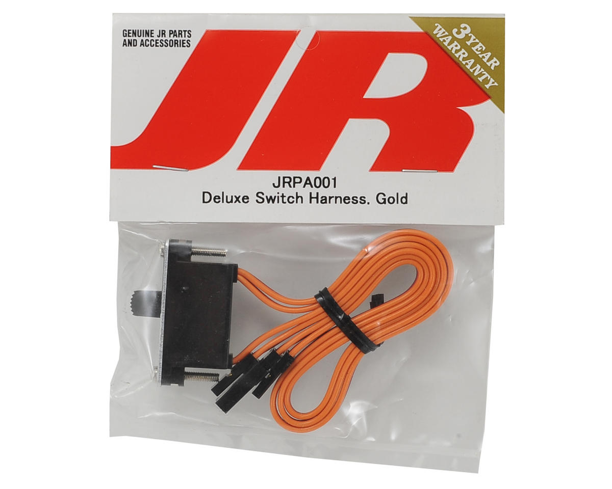 JR Deluxe Switch Harness (Gold)