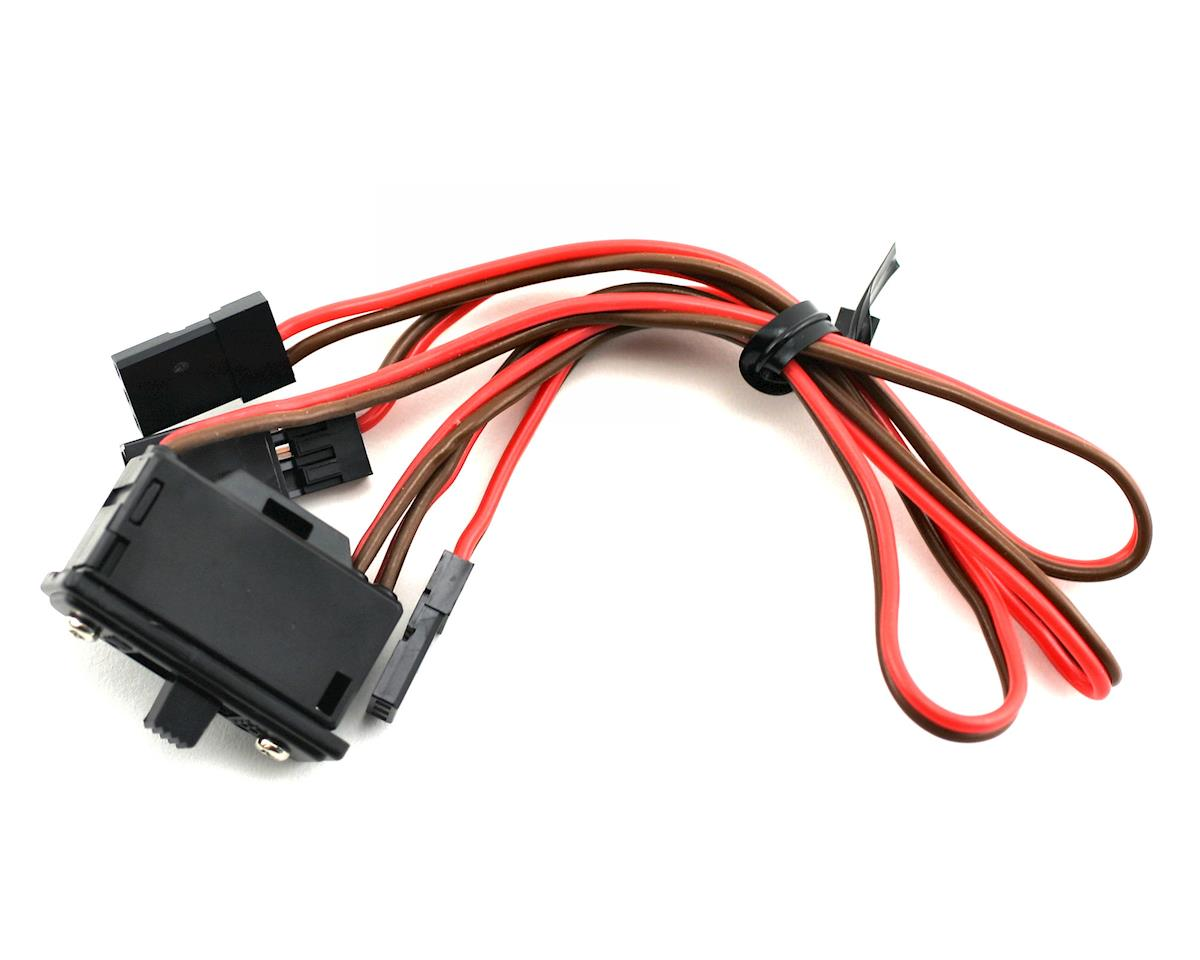 Small Receiver Switch Harness with Charging Connector by JR