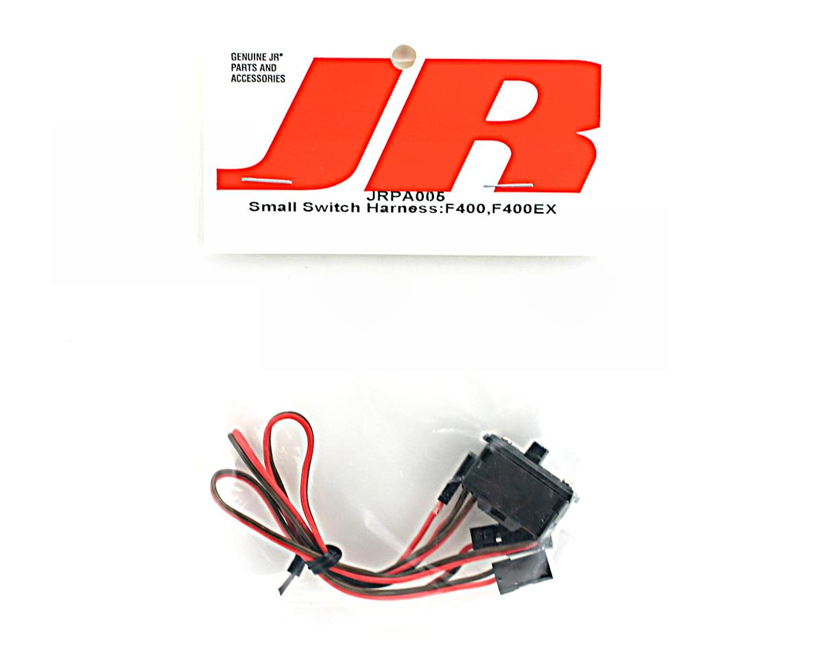 JR Small Receiver Switch Harness with Charging Connector