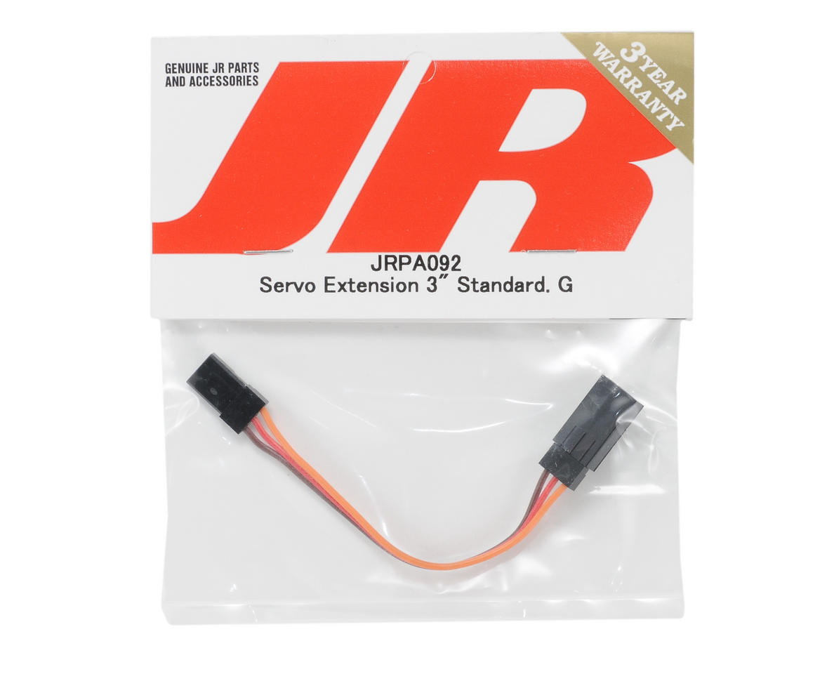 "JR Standard Servo Extension Wire (3"" - Gold)"