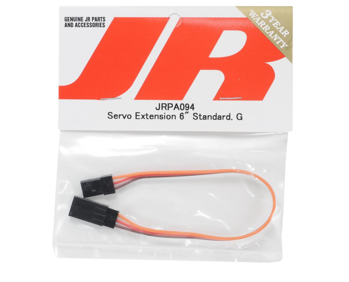 "JR Standard Servo Extension (6"" - Gold)"