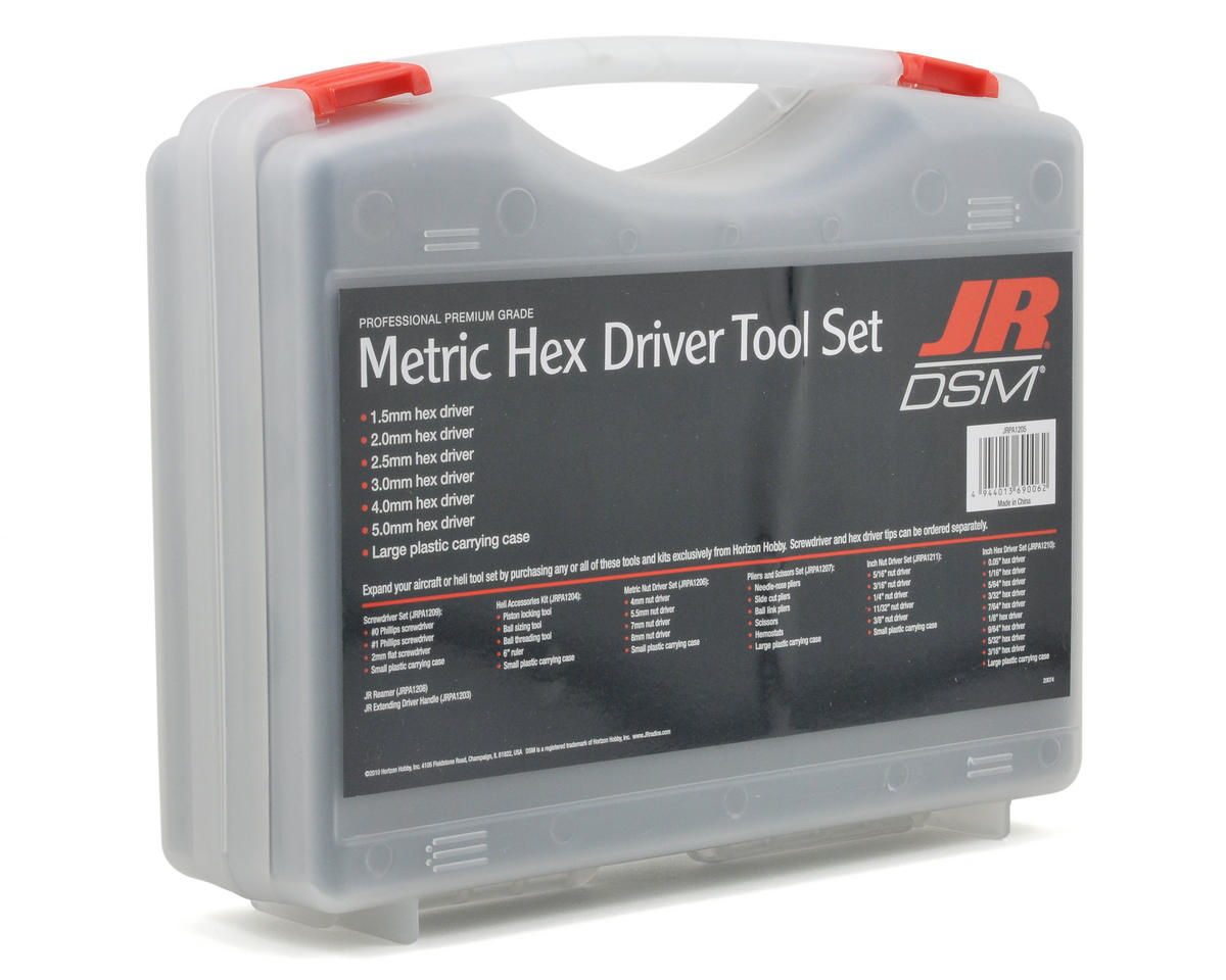 JR Metric Hex Driver Set (6)