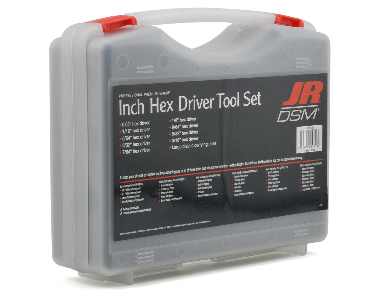 JR US Hex Driver Set (9)