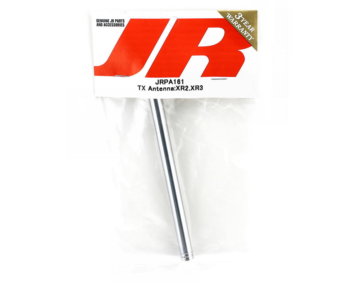 JR Silver TX Antenna for XR2(i), XR3(i), XS3 and XS3 Pro Radios
