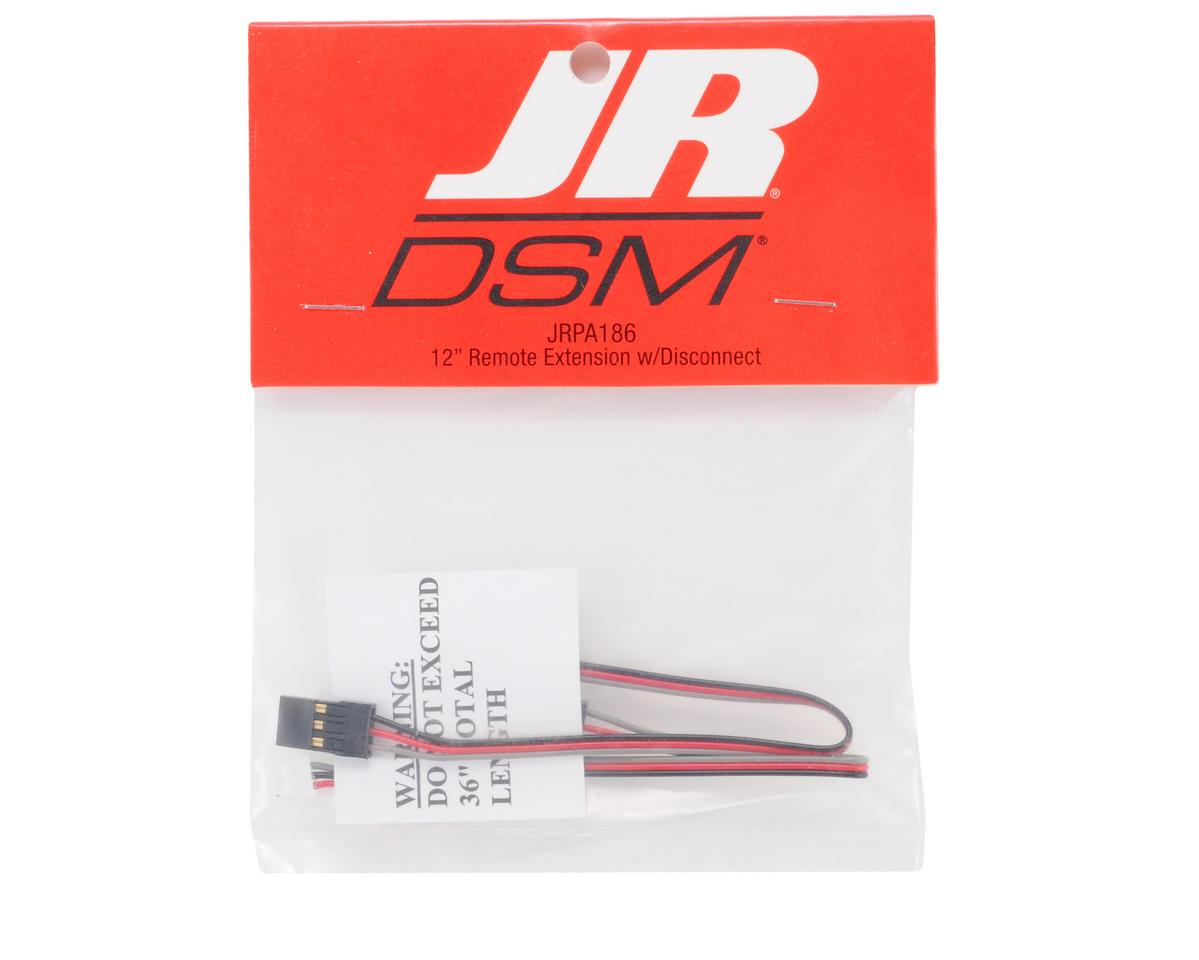 "JR 12"" Remote RX Extension w/Disconnect"