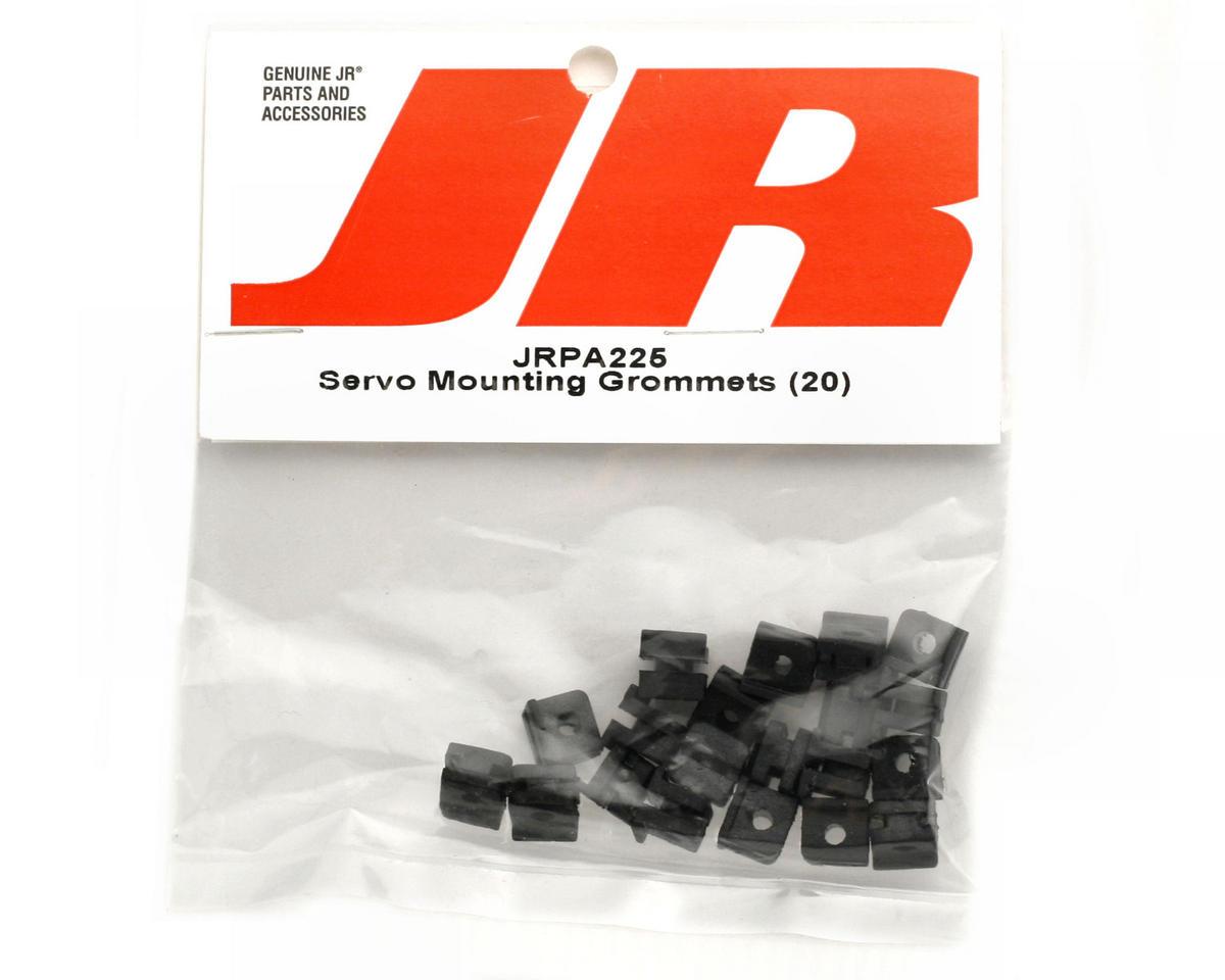 JR Servo Mounting Grommets (20)