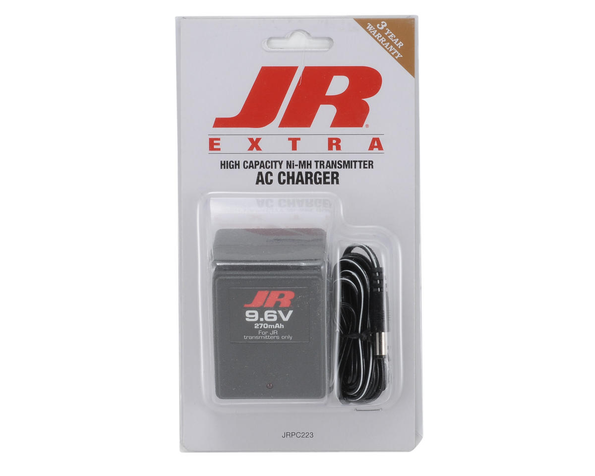 JR Transmitter Charger (270mAh 9.6V NiMH)