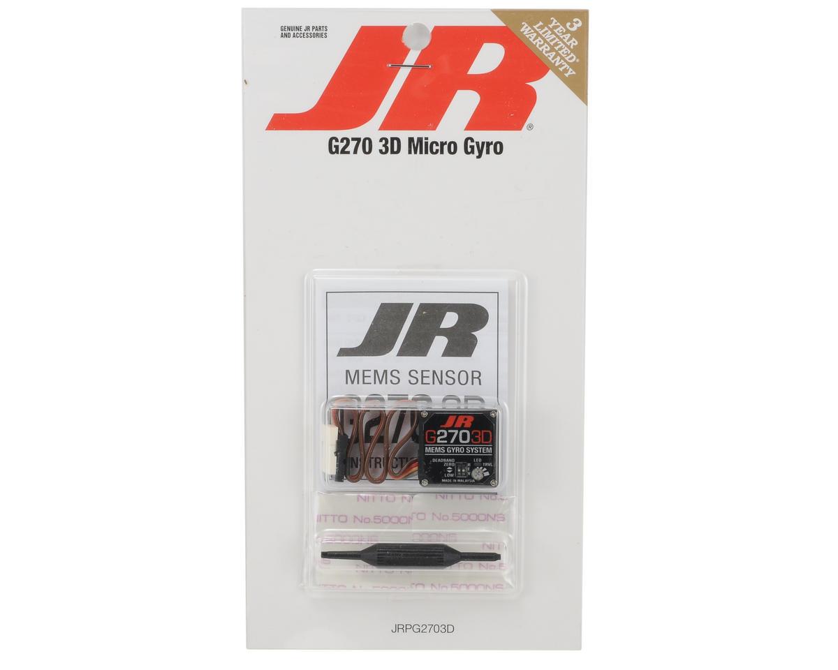 JR G270 3D Micro Gyro