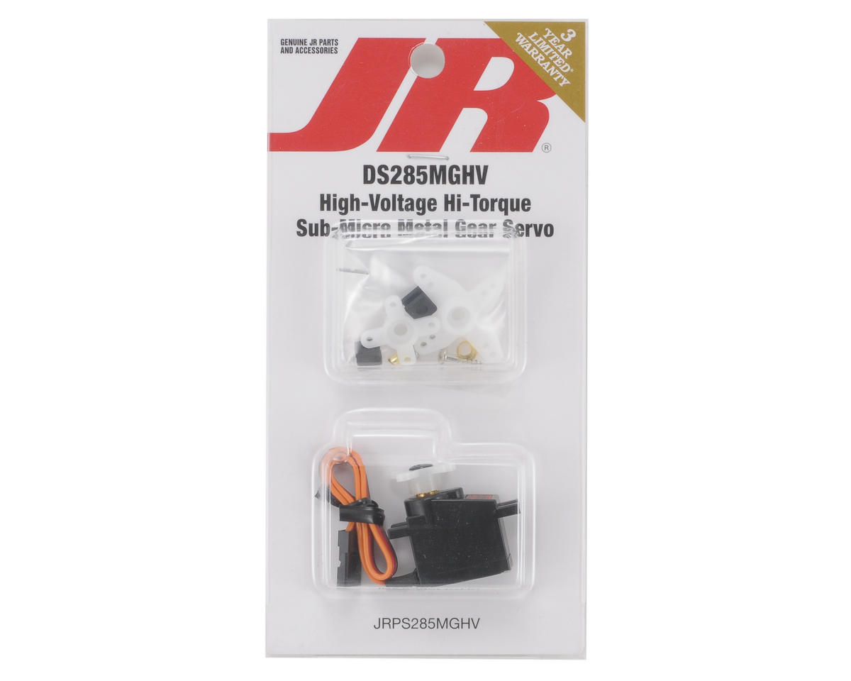 JR DS285MGHV High Voltage Digital Hi-Torque Sub-Micro Servo (Metal Gear)