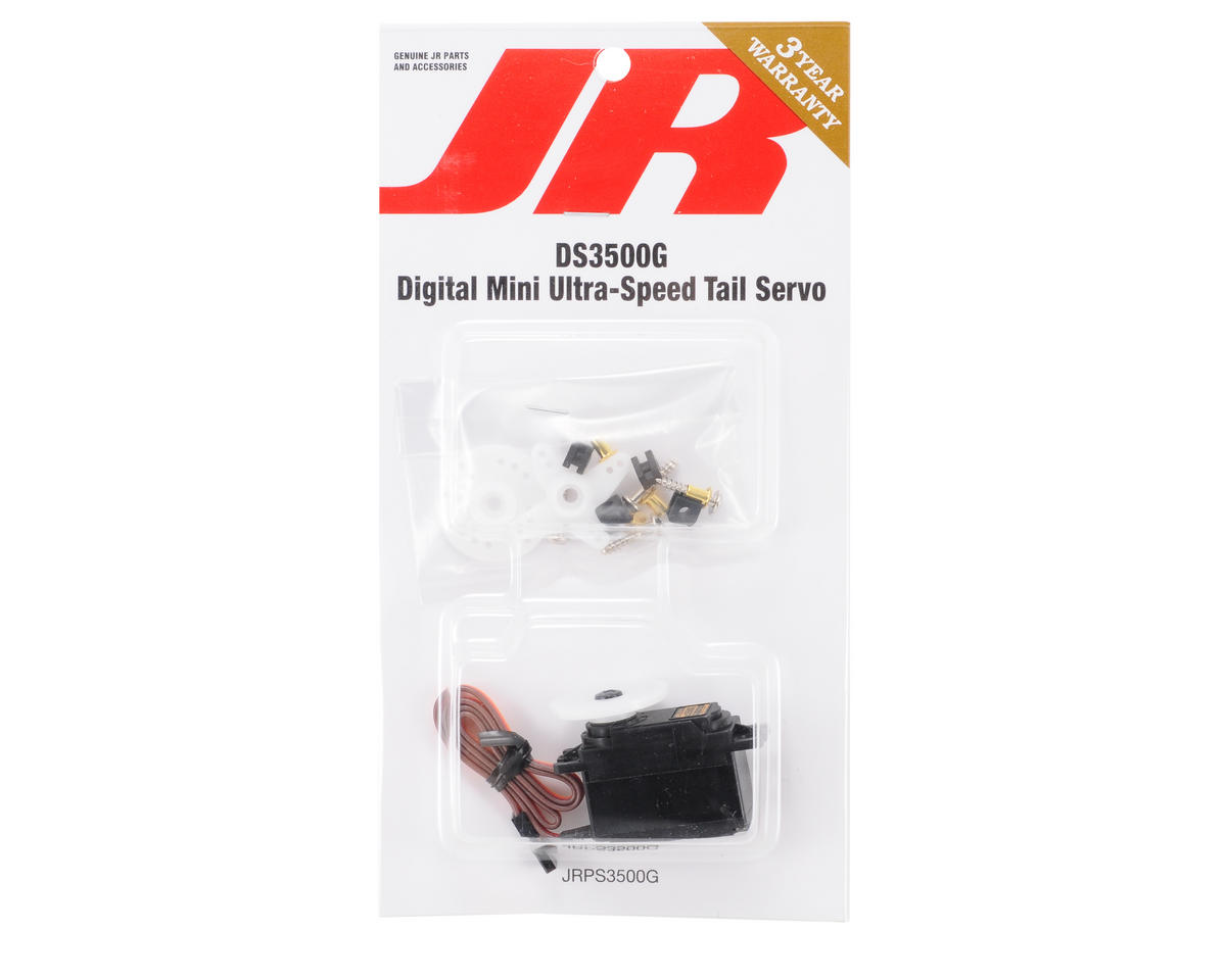 JR DS3500G Ultra Speed Mini Gyro Servo