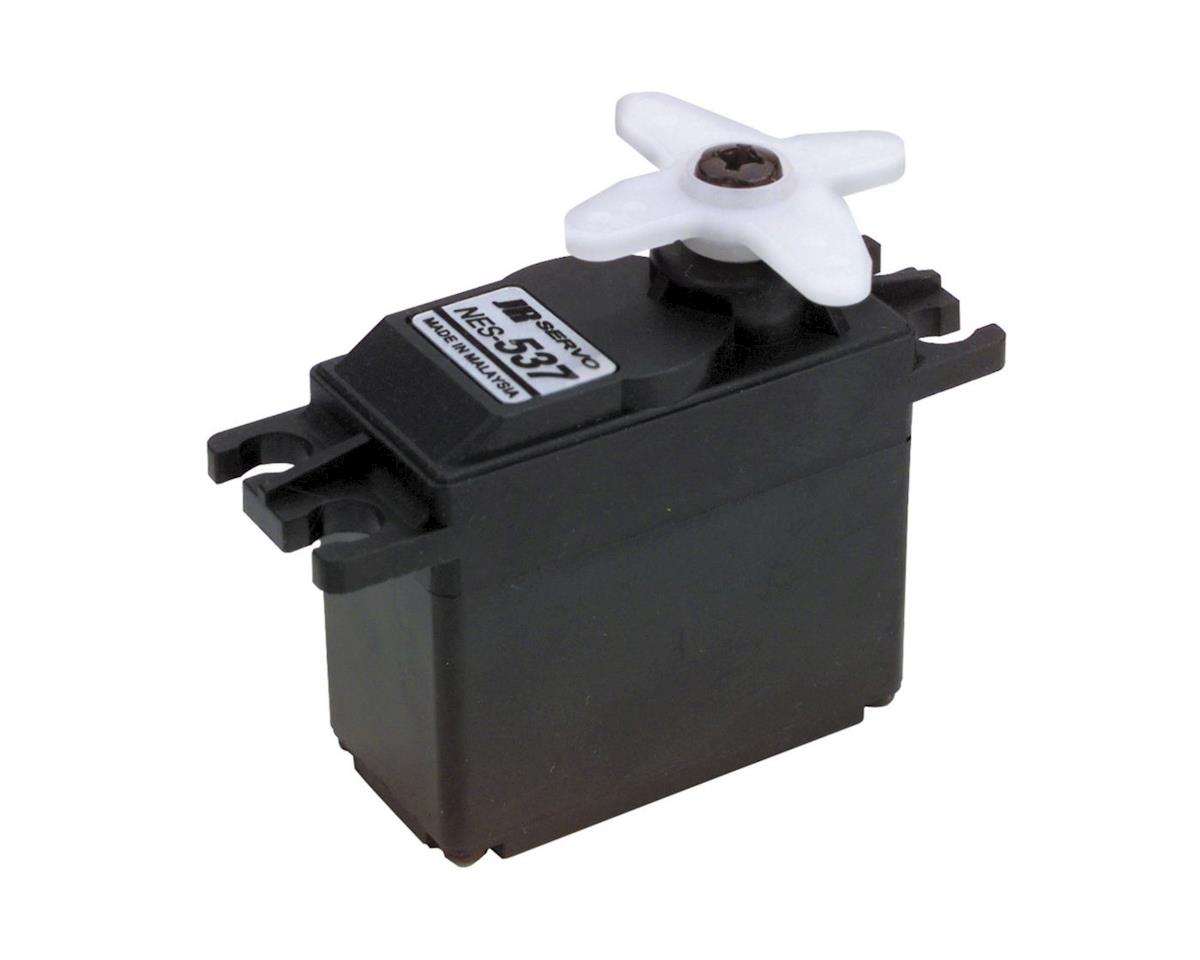 JR The JR 537 Standard Servo with Ball Bearing is precision at an affordable price. Perfect for .30 helis & sport planes