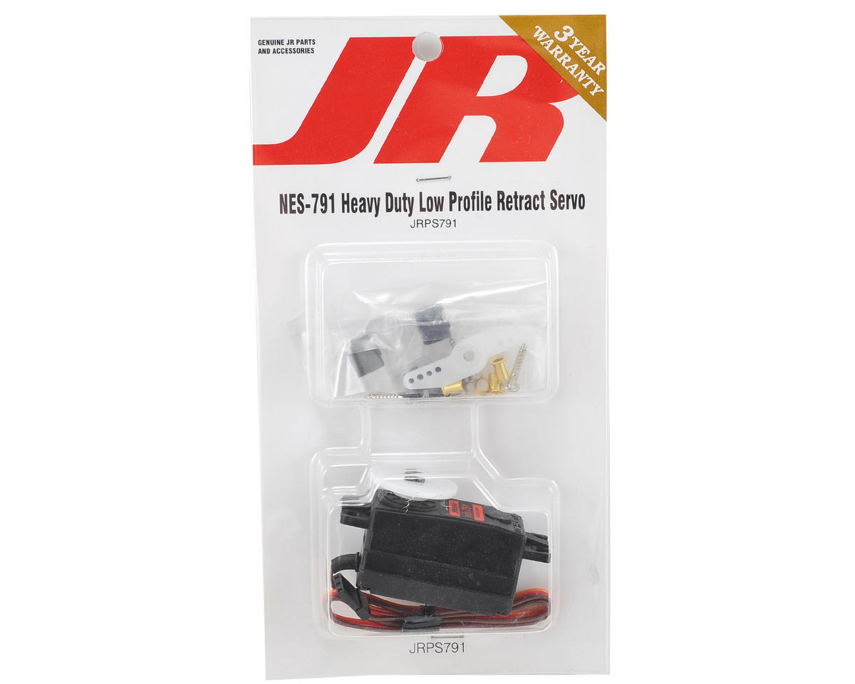 JR 791 Hi-Torque Lo-Profile 4.8V Metal Gear Retract Servo
