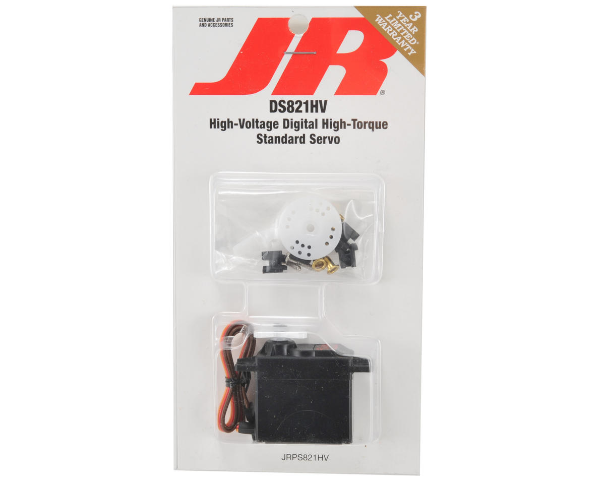 JR DS821HV High Voltage Digital High Torque Sport Servo