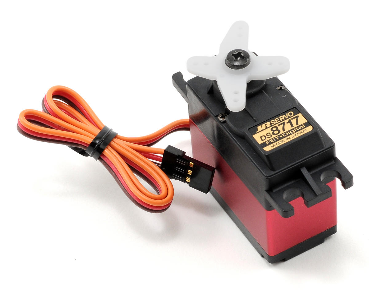 JR DS8717 Digital Ultra Speed Cyclic Servo