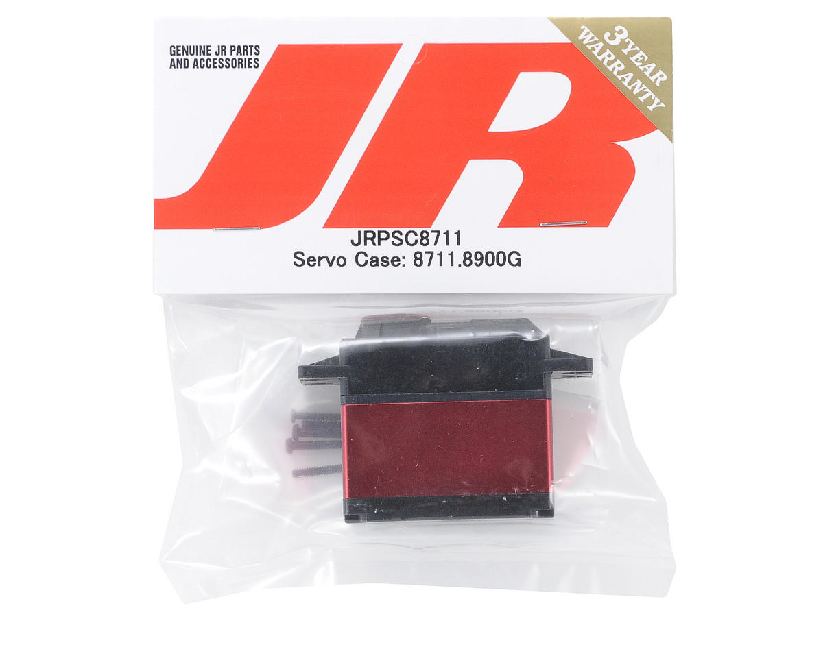 JR Servo Case: 8711, 8900G, 9100T