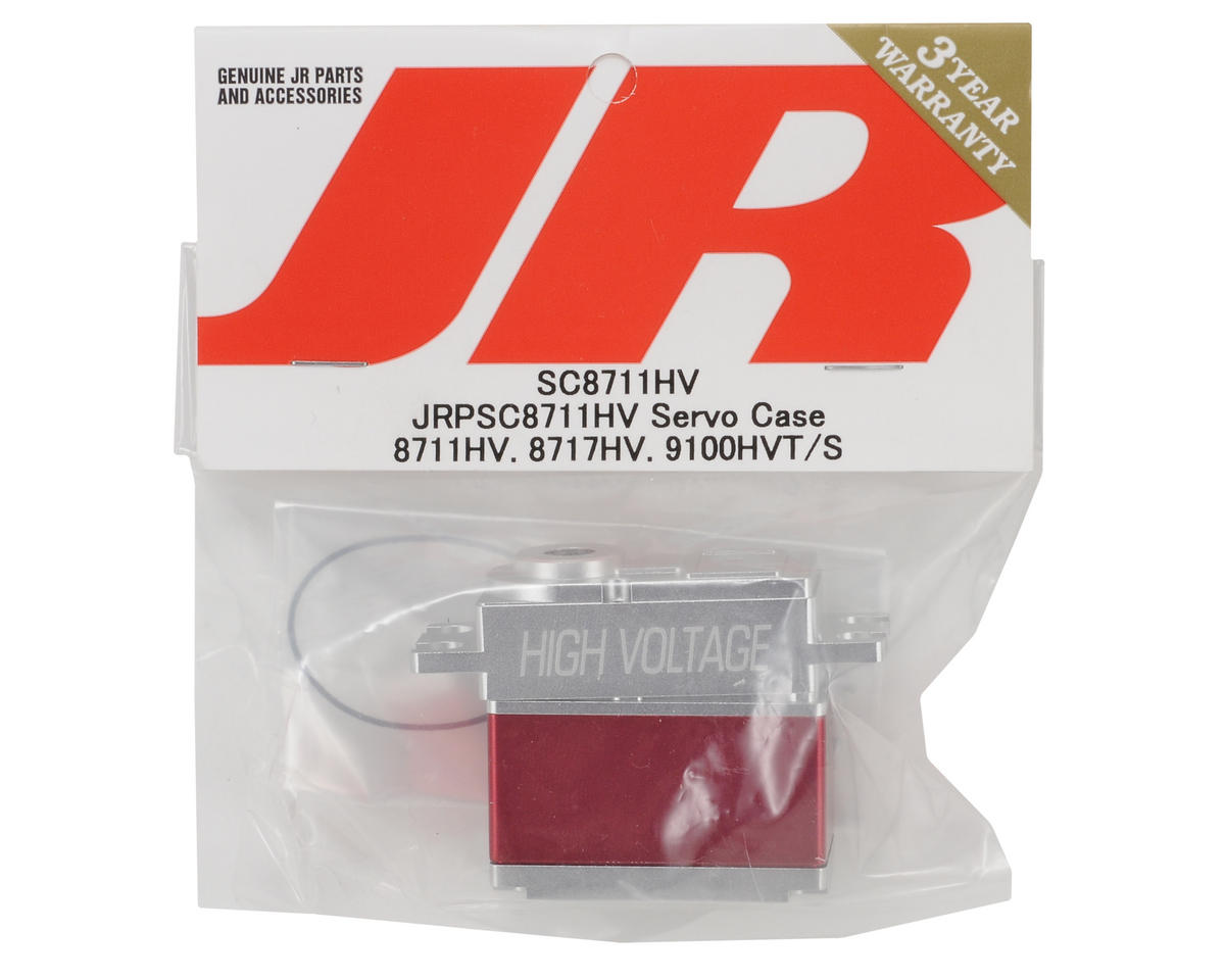 JR Aluminum Servo Case (8711HV, 8717HV, 9100HVT/S)