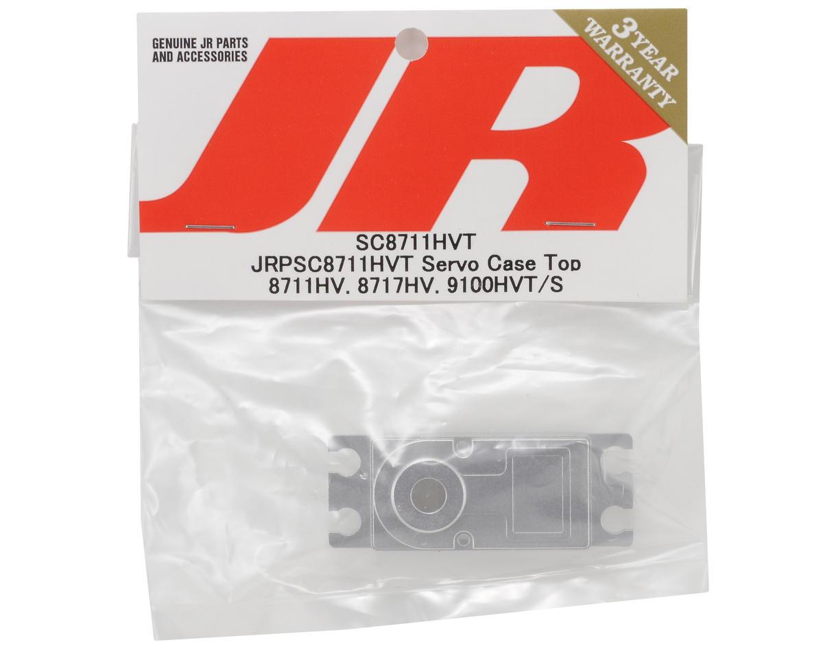 JR Aluminum Upper Servo Case (8711HV, 8717HV, 9100HVT/S)