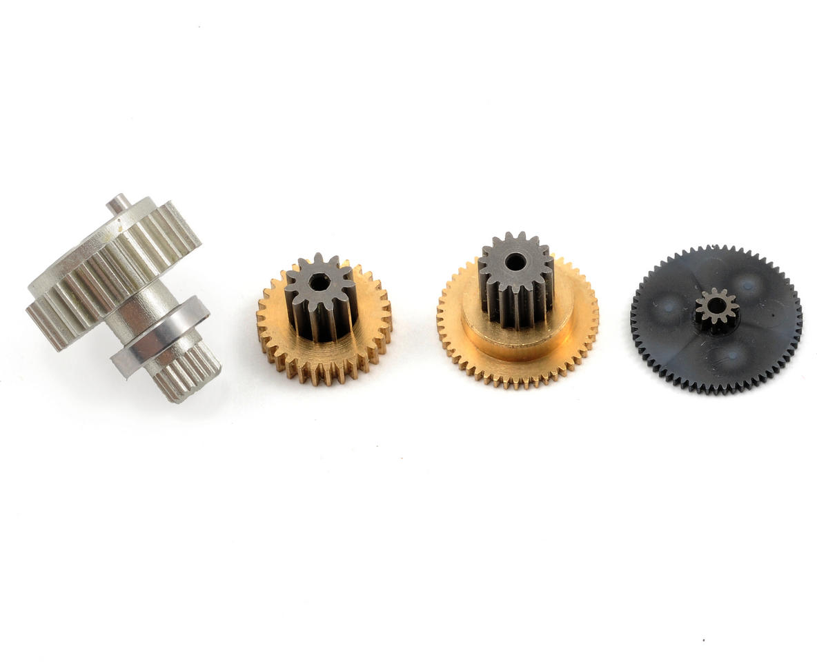 JR Replacement Metal Servo Gear Set for DS8417, DZ8450, Z4800S and Z8800S.