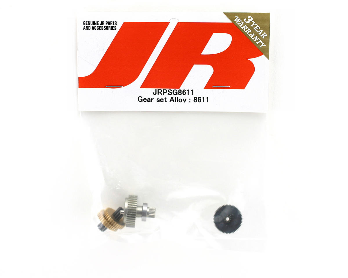 JR Replacement Metal Servo Gear Set for Z8611, Z8611A and Z9000T