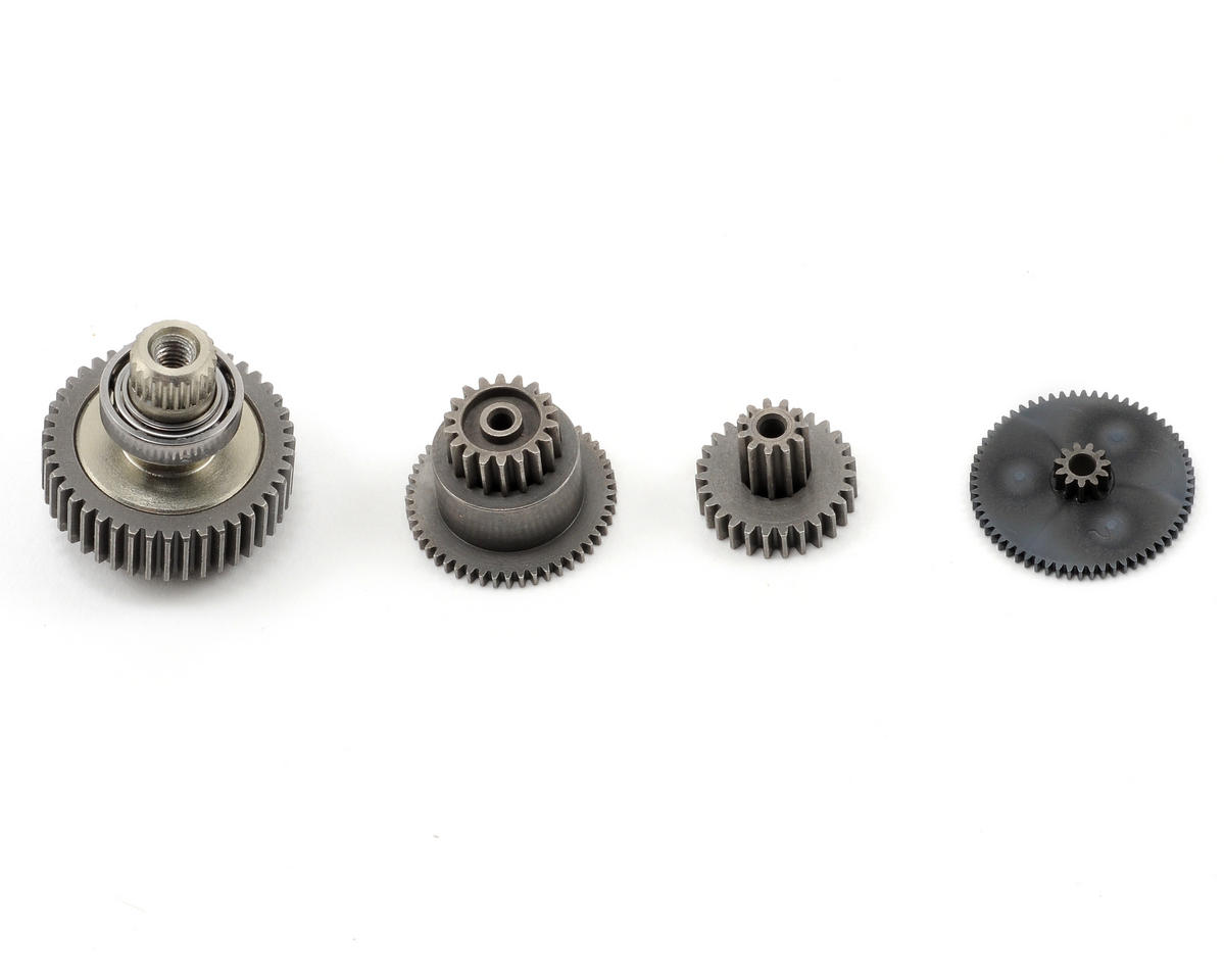 JR Steel Servo Gear Set (8717HV, 8917HV, 9100HVS)
