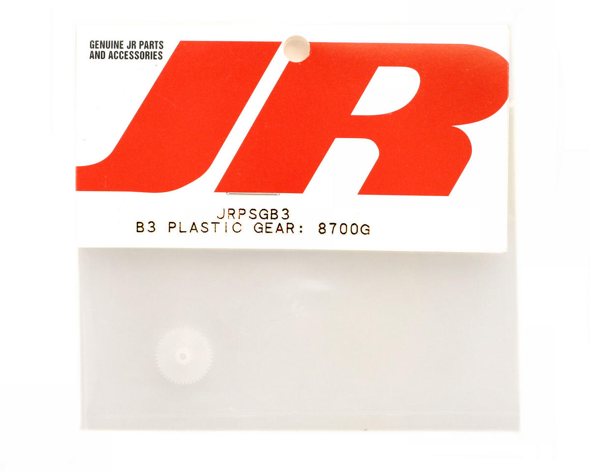 JR B3 Plastic Gear: 8700G