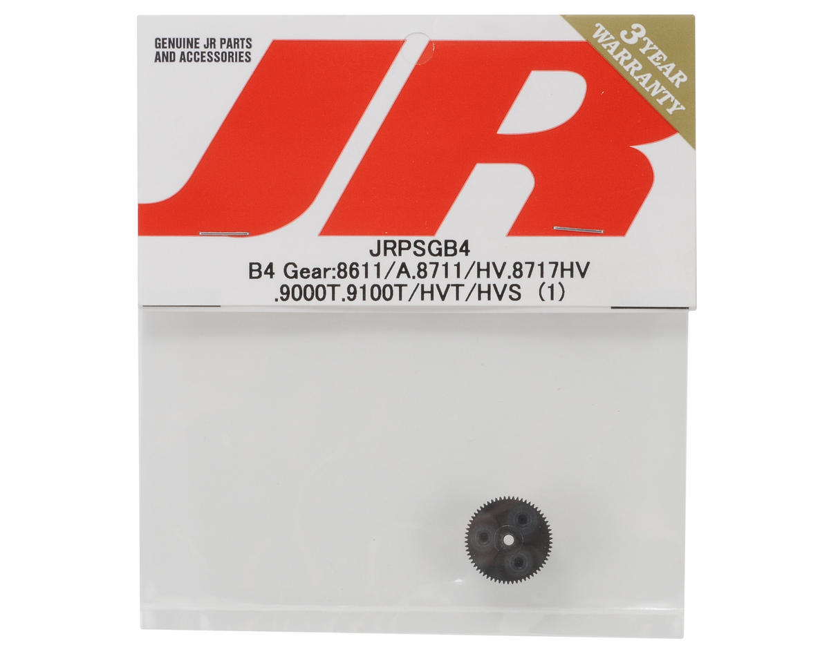 JR B4 Gear (8611/A,8711/HV,8717HV,9000T,9100T/HVT/HVS)