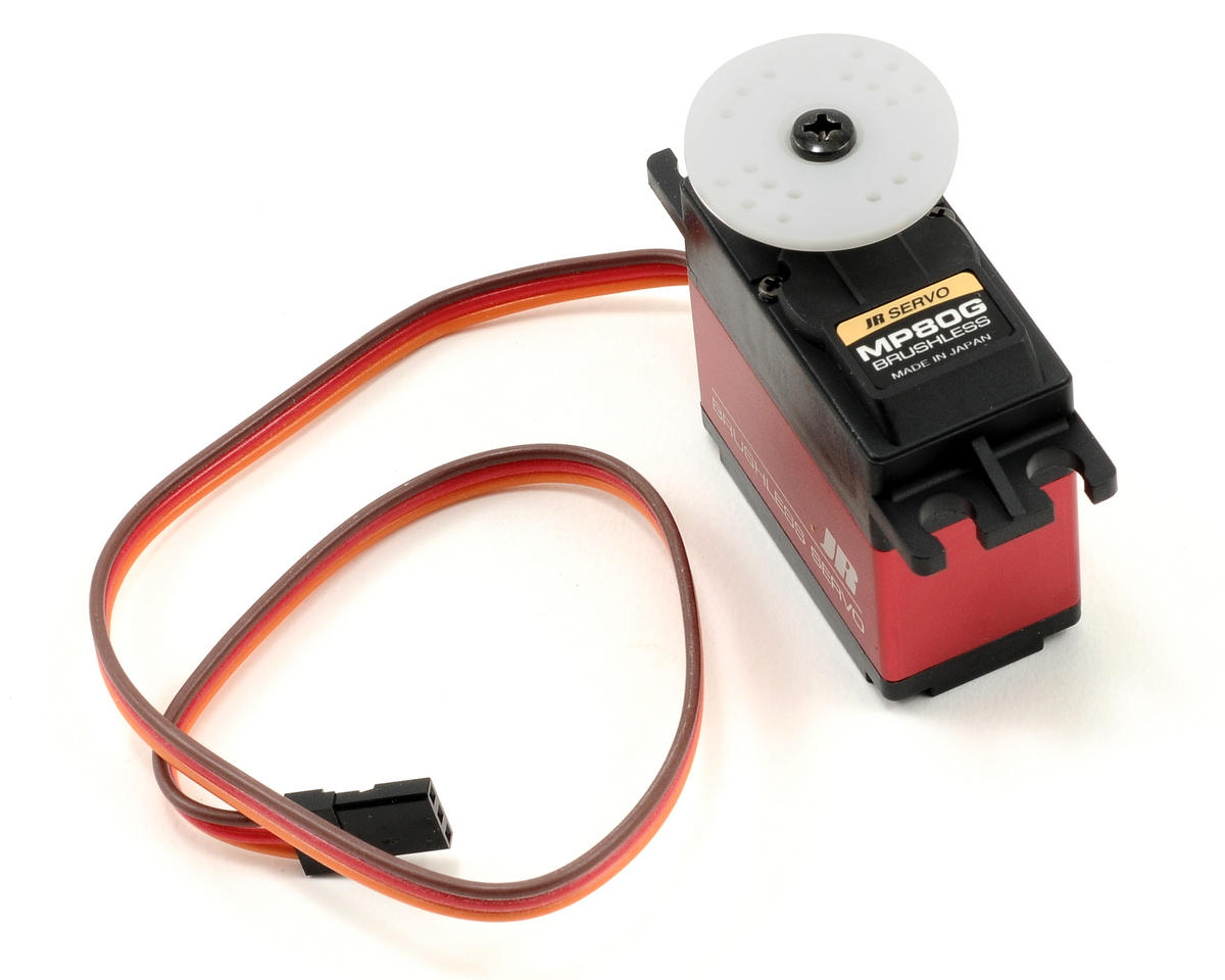 JR MP80G Brushless Ultra Speed 4.8V Tail Rotor Servo