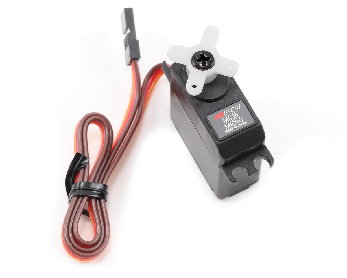 JR Sport MC35 Micro Servo (17 grams, 35 oz/in Torque)