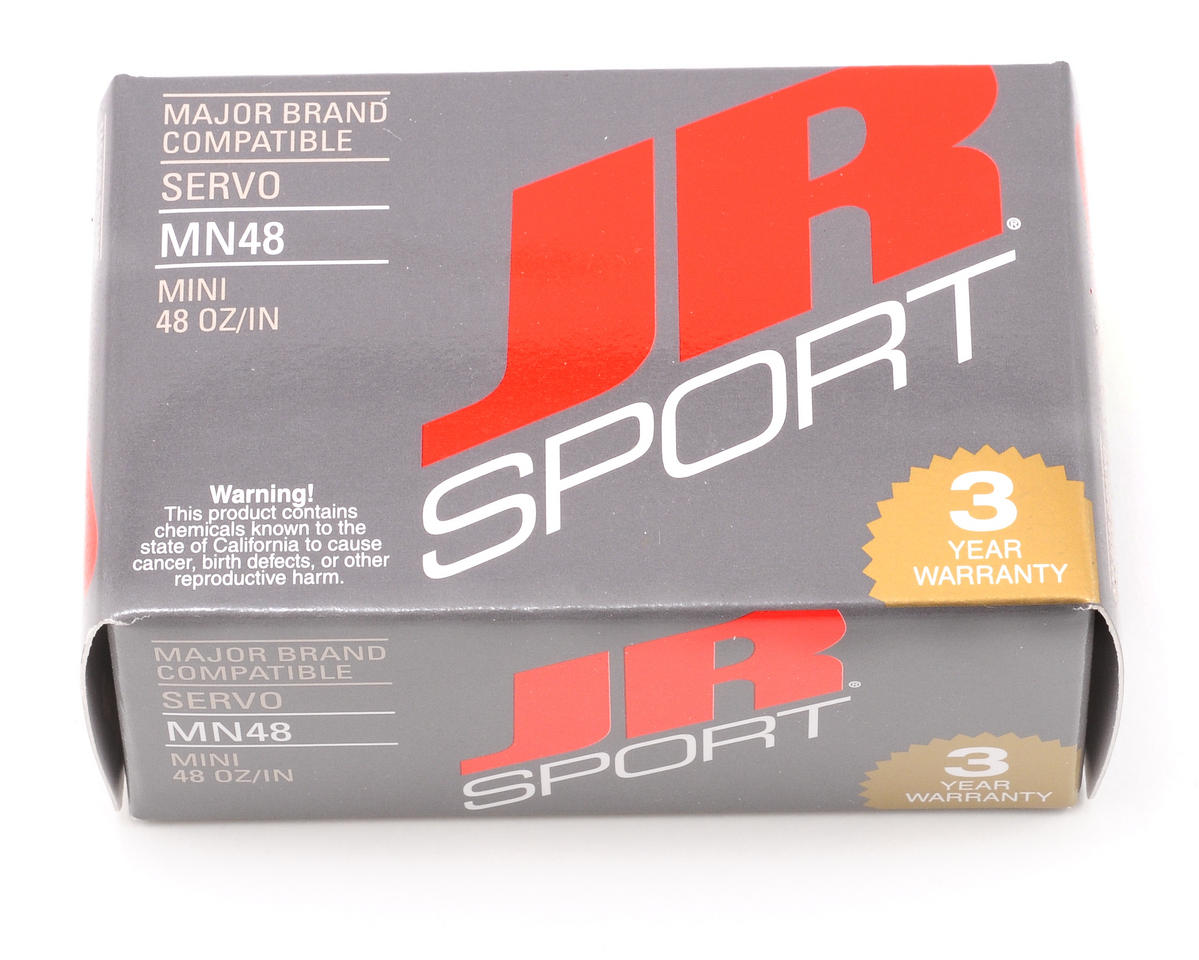 JR Sport MN48 Mini Servo (0.8 oz, 48 oz/in Torque)