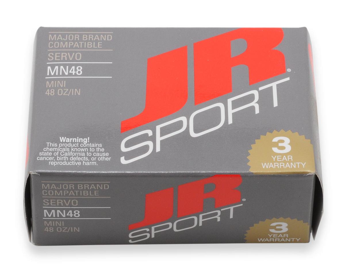 JR Sport MN48 Mini Servo (0.8 oz, 48 oz/in Torque) (Reverse)