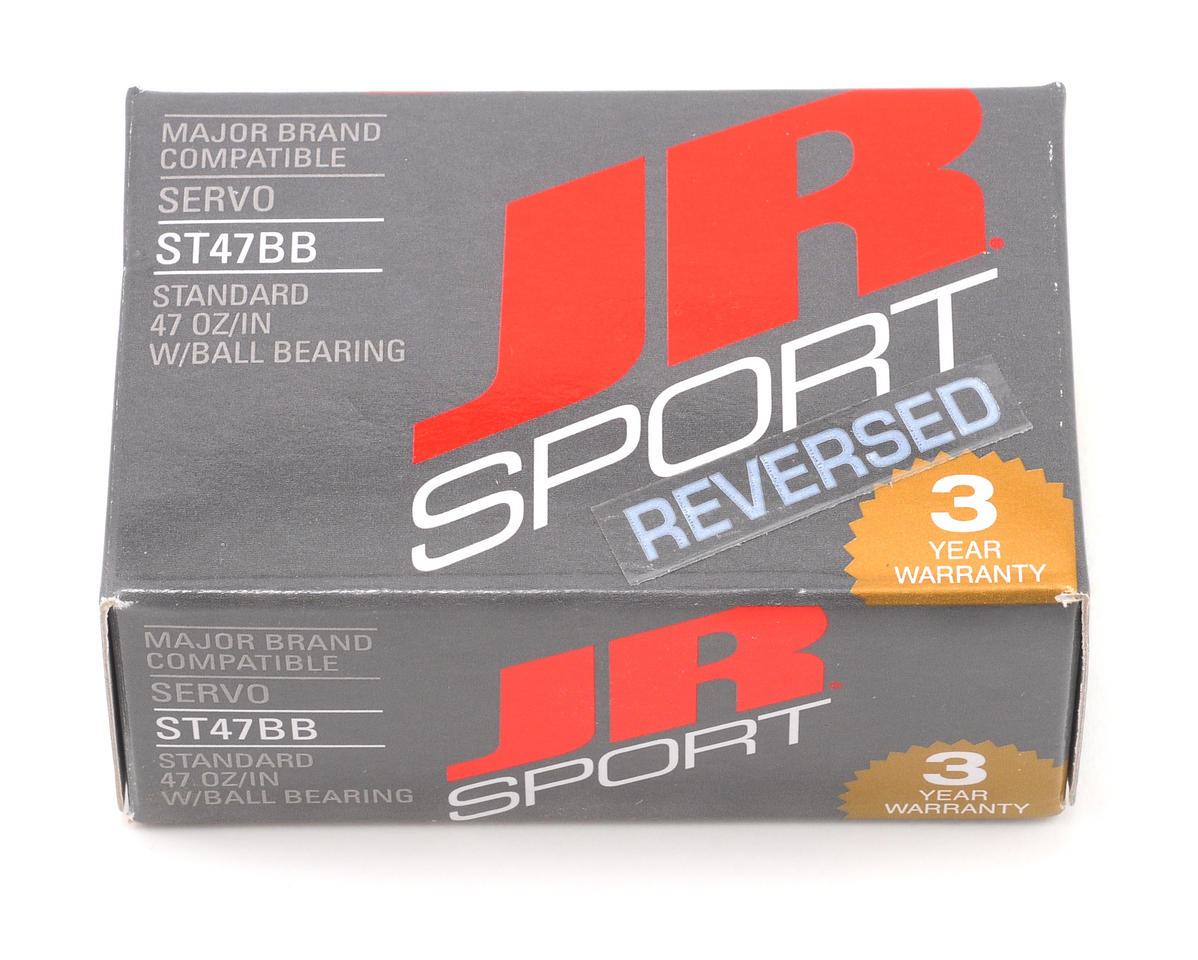 JR Sport ST47BB Standard Ball Bearing Servo (Reverse)