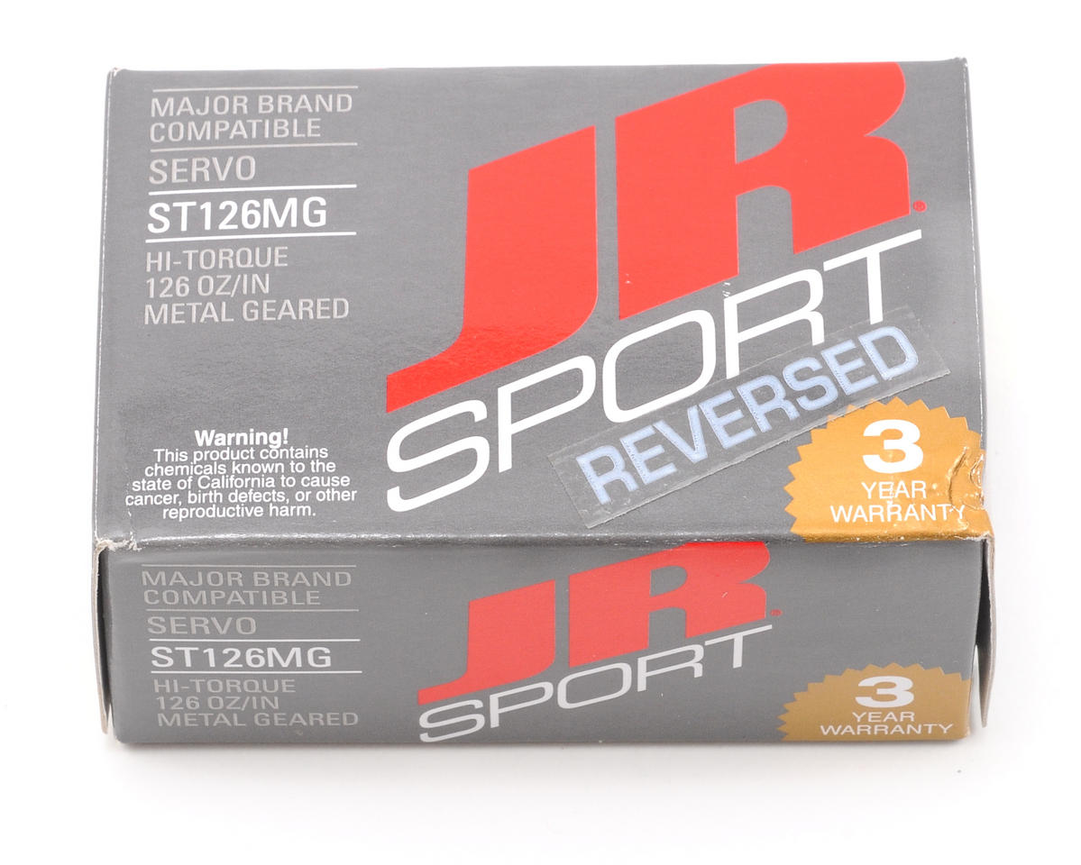 JR Sport ST126MG High Torque Servo (Reverse)