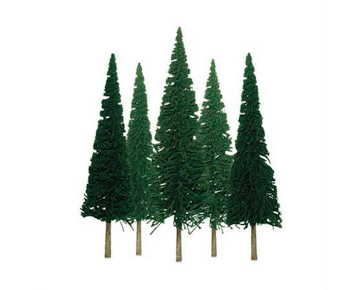 "JTT Scenery Super Scenic Tree, Pine 4-6"" (24)"