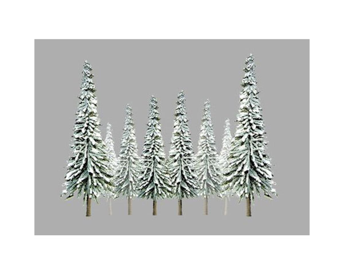 "JTT Scenery Super Scenic Tree, Snow Pine 2-4"" (36)"