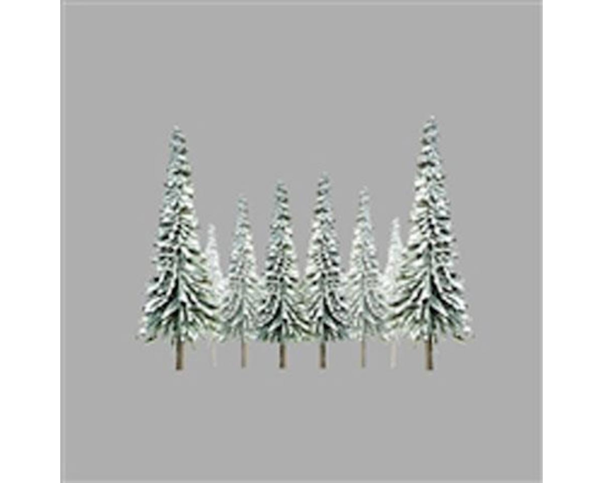 "JTT Scenery Super Scenic Tree, Snow Pine 4-6"" (24)"