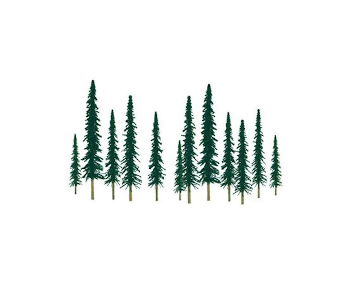 "JTT Scenery Super Scenic Tree, Conifer 6-10"" (12)"