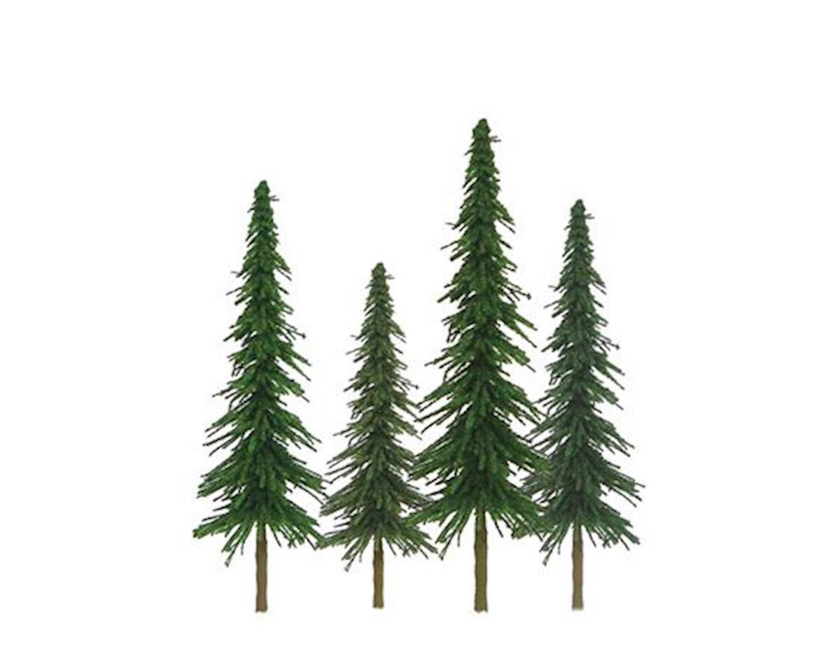 "JTT Scenery Super Scenic Tree, Spruce 4-6"" (24)"