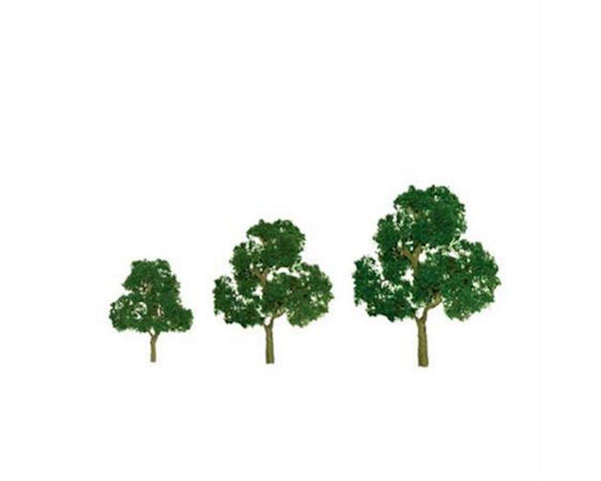 """JTT Scenery Premium Tree, Deciduous 3.5-4"""" (2)"""