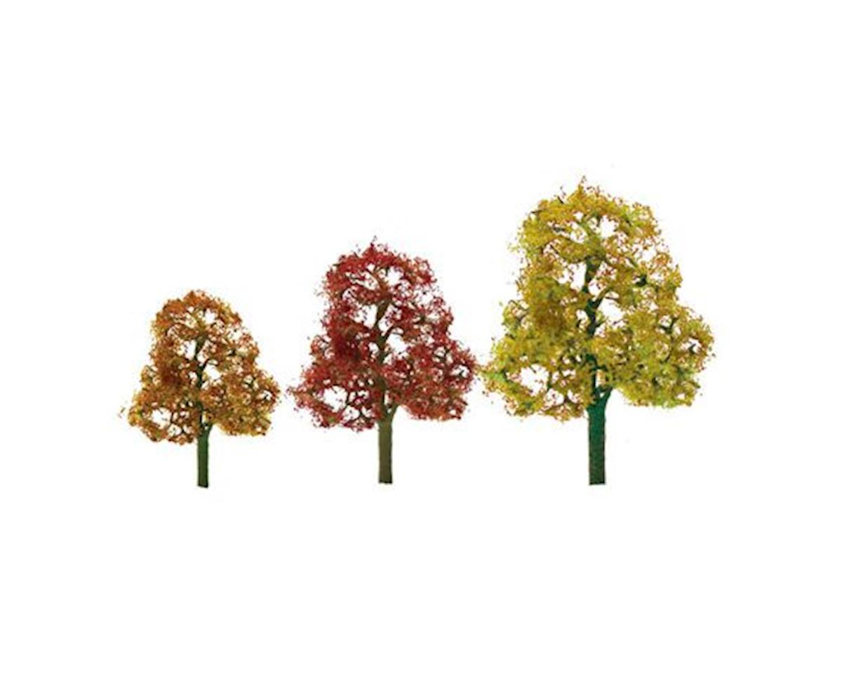 "JTT Scenery Premium Tree, Autumn Deciduous 4.5-4"" (2)"