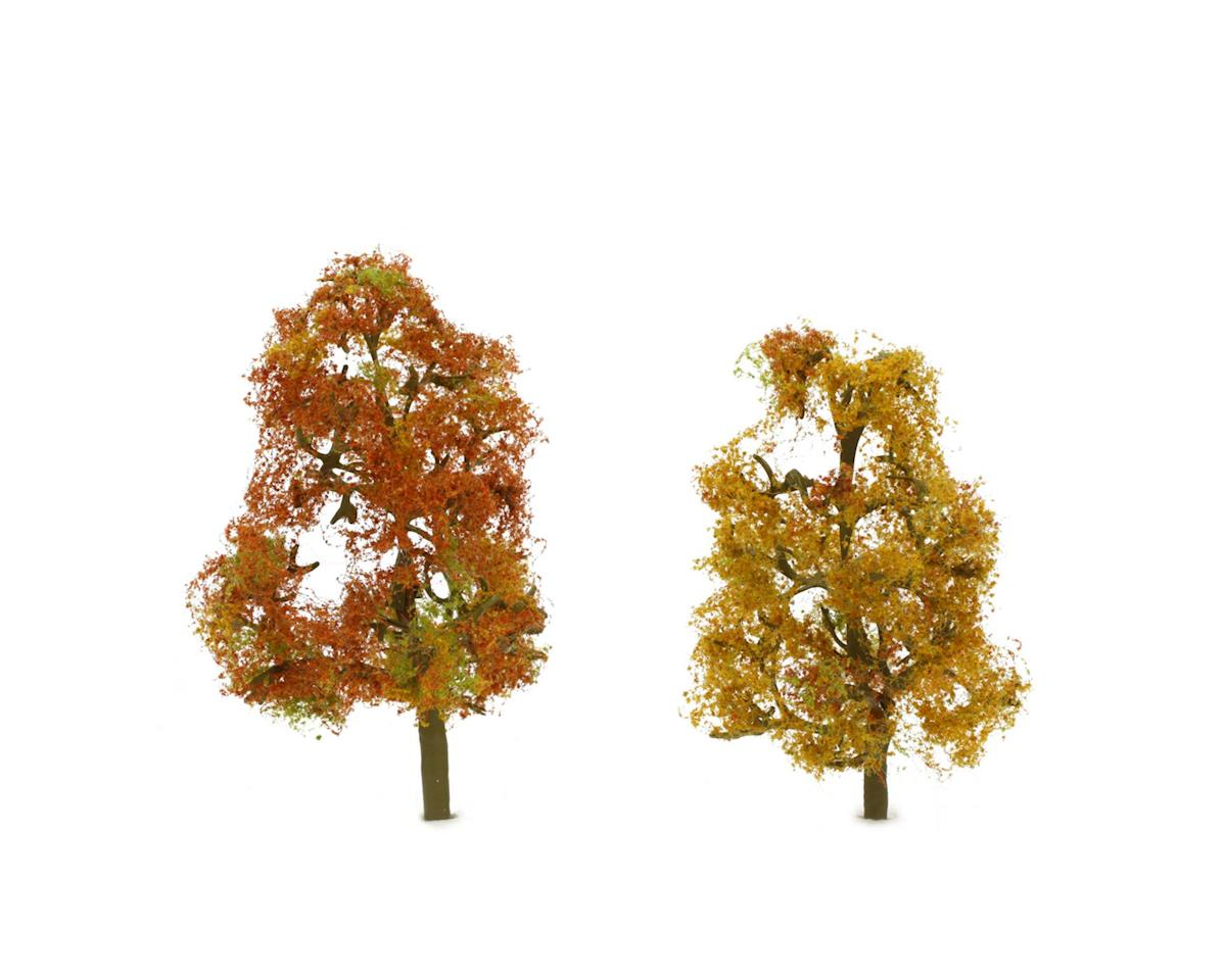 "JTT Scenery Premium Tree, Autumn Sycamore 3.5-4"" (2)"