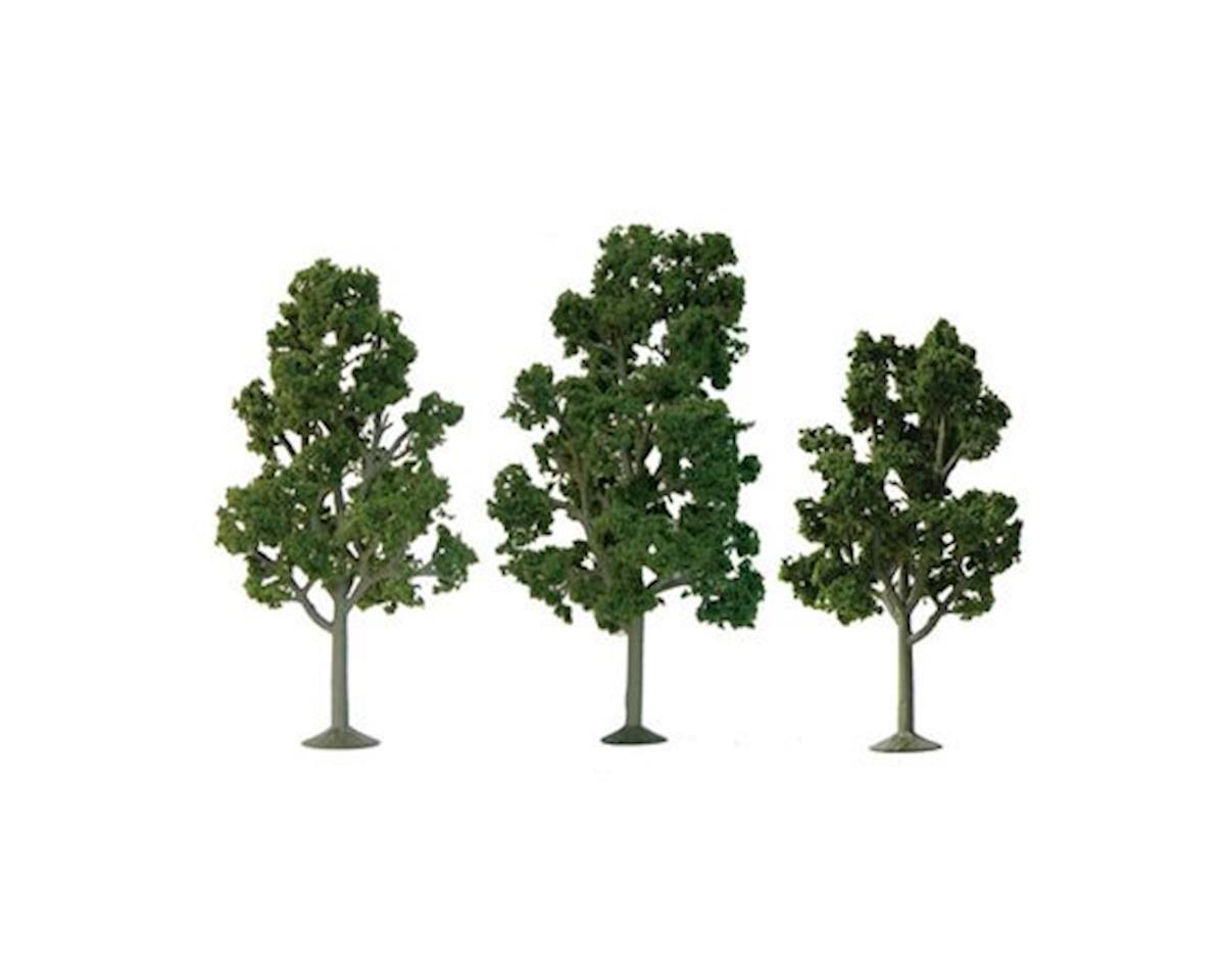 """JTT Scenery Super Scenic Tree, Sycamore 7.5-8"""" (2)"""